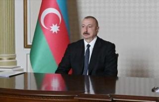 Azerbaycan Cumhurbaşkanı Aliyev'den 15 Temmuz...