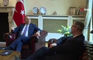 Bakan Çavuşoğlu, Birleşik Krallık Parlamentosu...