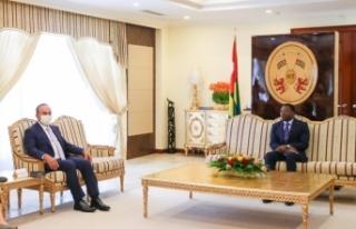Bakan Çavuşoğlu, Togo Cumhurbaşkanı Gnassingbé...