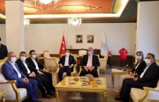Bakan Ersoy, Kapadokya Alan Başkanlığını ziyaret...