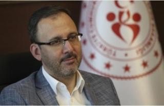 Bakan Kasapoğlu'ndan TFF 1. Lig'e yükselen...