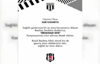 Beşiktaş'tan Fenerbahçe'ye 'Geçmiş olsun'...