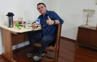 Brezilya Devlet Başkanı Bolsonaro, Covid-19'u...