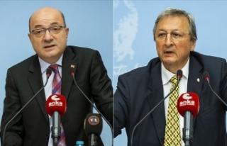 CHP PM Üyesi Cihaner ve Kurultay Onur Üyesi Yarman'dan...