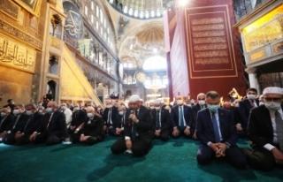 Cumhurbaşkanı Erdoğan, Ayasofya-i Kebir Cami-i...