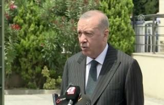 Cumhurbaşkanı Erdoğan: Ayasofya'nın bu süreci...