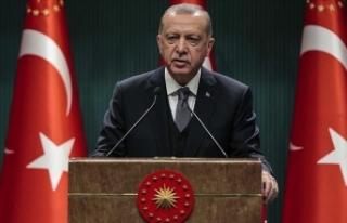 Cumhurbaşkanı Erdoğan'dan şehit askerin ailesine...