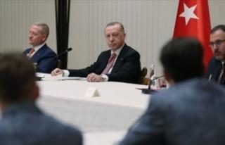 Cumhurbaşkanı Erdoğan, Medipol Başakşehir Futbol...