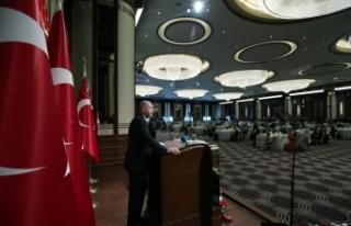 Cumhurbaşkanı Erdoğan şehit aileleri ve gazilerle...