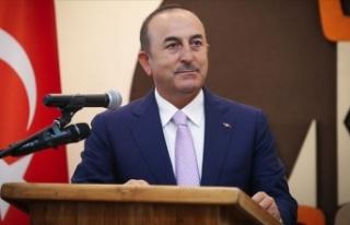 Dışişleri Bakanı Çavuşoğlu: Nijer'in kalkınmasına...
