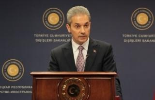 Dışişleri Bakanlığı Sözcüsü Hami Aksoy'dan...