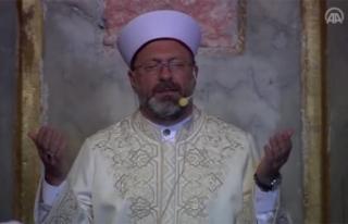 Diyanet İşleri Başkanı Ali Erbaş, Ayasofya-i...