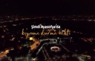 Diyanet İşleri Başkanı Ali Erbaş'tan 'Ayasofya'...