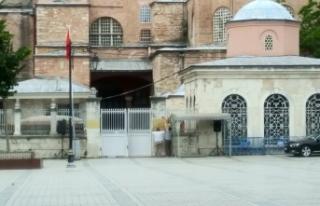 Emniyet, Ayasofya Camii açılışı için kapatılacak...