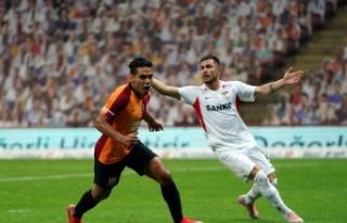 Galatasaray'da Falcao takımla birlikte çalıştı