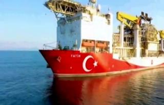 Fatih Sondaj Gemisi Karadeniz'de ilk sondajına...