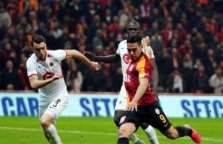 Galatasaray'da Falcao, Ankaragücü'ne karşı...