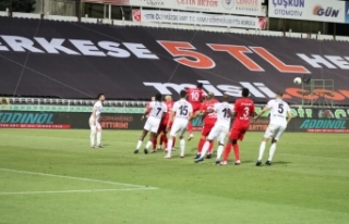 Gaziantep, deplasmanda Denizlispor'u 1-0 mağlup...