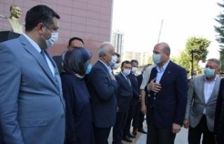 İçişleri Bakanı Soylu, güvenlik toplantısı...