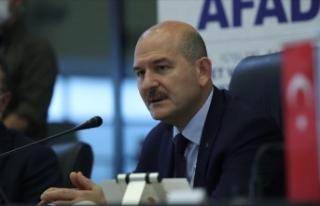 İçişleri Bakanı Soylu: Rize'de selden etkilenen...
