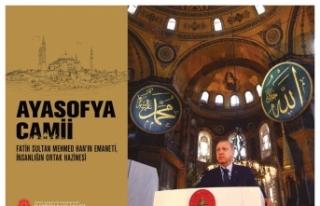 İletişim Başkanlığından Ayasofya kitabı ve...