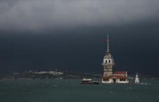 İstanbul'da çok bulutlu hava bekleniyor
