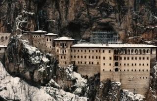 İşte Sümela Manastırı'nın 5 yıllık restorasyon...
