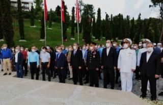 Kent protokolü 15 Temmuz Şehitler Anıtını ziyaret...