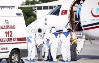 Kırgızistan'daki Kovid-19 hastası Türk vatandaşları...