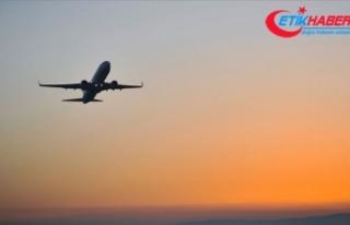Libya'da askıya alınan uçuşlar Türkiye seferiyle...