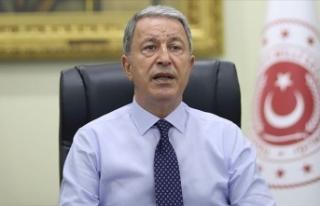 Milli Savunma Bakanı Akar: TSK'nın şanlı...