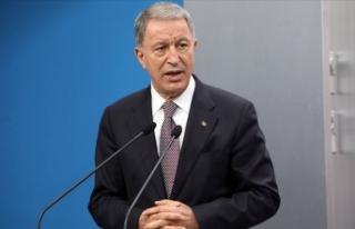 Milli Savunma Bakanı Akar: Yıl başından itibaren...