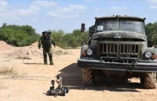MSB: Libya'da mayın ve EYP'lerin imha çalışmaları...