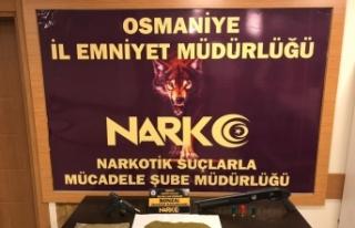 Osmaniye'de uyuşturucu satıcılarına yönelik...