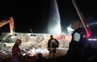 Patlama sonrası hastaneye kaldırılan 114 kişiden...