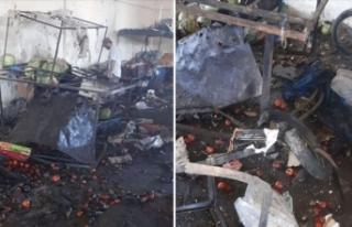 Rasulayn'da pazar yerine bombalı terör saldırısı:...