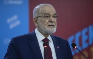 Saadet Partisi Genel Başkanı Karamollaoğlu: Aziz...