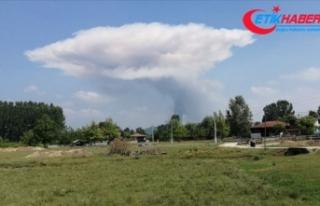 Sakarya'da havai fişek fabrikasında patlama:...