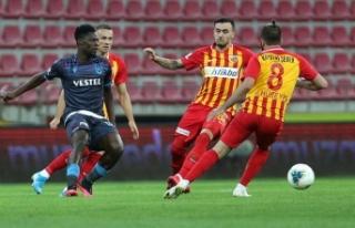Süper Lig'de Hes Kablo Kayserispor ve BtcTurk...