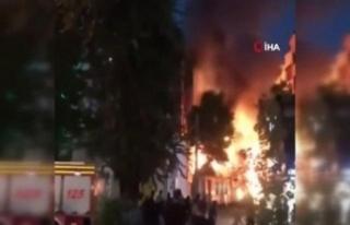 Tahran'da klinikte meydana gelen patlamada 13 kişi...