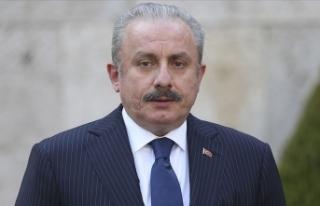 TBMM Başkanı Şentop'tan Ayasofya-i Kebir Cami-i...