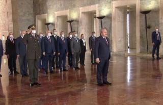 TBMM Başkanı Şentop ve yeni Başkanlık Divanı...