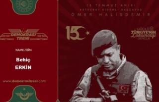 TCDD'den 15 Temmuz için 'anı bileti'