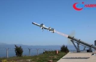 Türkiye'nin ilk deniz seyir füzesi 'Atmaca'...