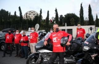 Türkiye Motosiklet Federasyonundan 15 Temmuz dolayısıyla...