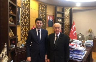 Ülkü Ocakları Yeni Genel Başkanı Ahmet Yiğit...
