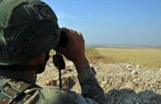 Zeytin Dalı bölgesinde 4 PKK/YPG'li terörist...