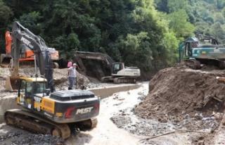 AFAD: Giresun'da kapanan 113 köy yolu ulaşıma...