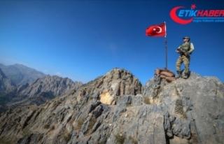 Ağrı'da PKK'lı teröristlerle çıkan...