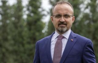AK Parti'li Bülent Turan: Ülkemizi daha büyük...